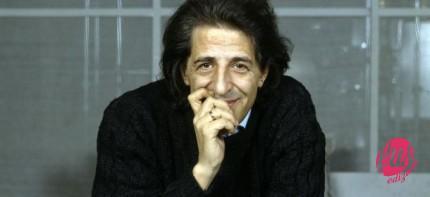 ©girella/lapresse archivio storico spettacolo musica anni '90 Giorgio Gaber nella foto: il cantautore Giorgio Gaber sul palco
